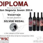 Medallas Catavinum World Wine & Spirits Competition 2016
