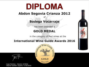 """International Wine Guide Awards 2016"""
